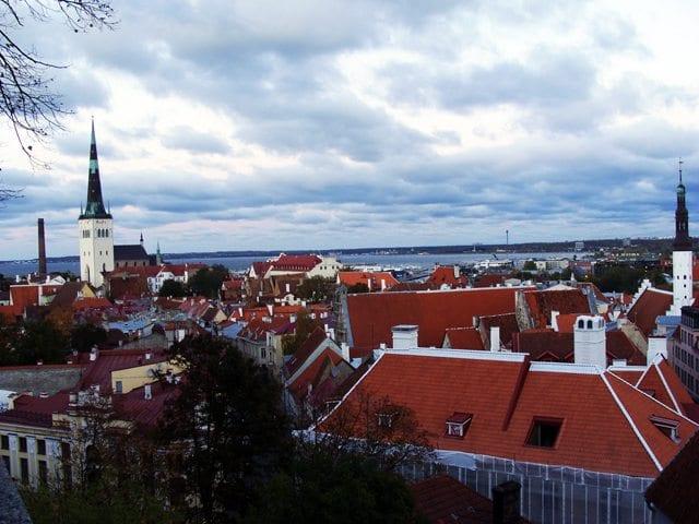 Tallinn - panorama miasta