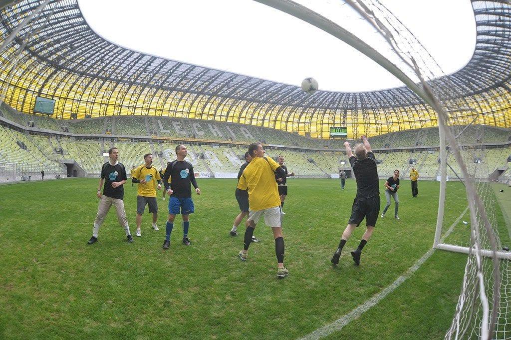 PGE Arena, mecz piłki blożnej Blog Forum Gdańsk 2012