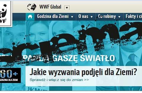 WWF gaszenie światła