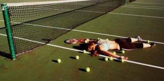 Tenis to także przegrana