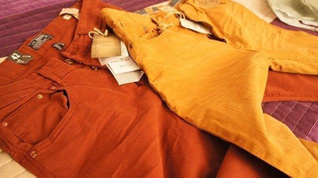 kolorowe spodnie męskie