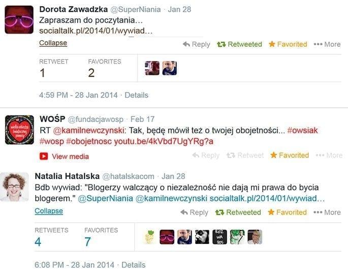 liderzy opinii cytują socialtalk.pl