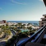 widok z balkonu w hotelu Iberostar Torviscas Playa