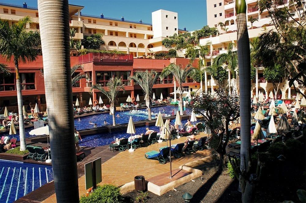 hotel Jacaranda basen