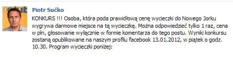 Kryzys biura podróży Funclub na Facebooku
