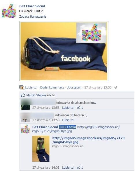 Get More Social na facebooku łamie regulamin?