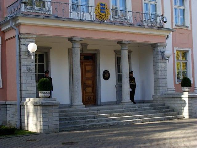 Tallinn - pałac prezydencki