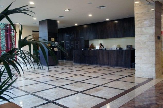 hotel Jacaranda lobby